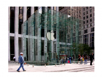 Photo Credit: Wikipedia - Apple Computer retail store on Fifth Avenue in New York City.