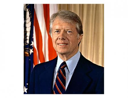 "Photo Credit: Wikipedia - James Earl ""Jimmy"" Carter."