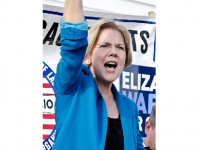 Photo Credit: Tim Pierce - Elizabeth Warren at a campaign rally in Auburn, Massachusetts, Nov 2, 2012.  Source -https://www.flickr.com/photos/qwrrty/8152000438/
