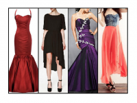 A wide range of fishtail dresses