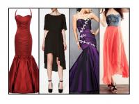 A wide range of fishtail dresses