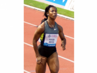 Fraser-Pryce Finishes Third in IAAF Meet