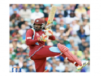 Gayle's Blast Puts West Indies Ahead