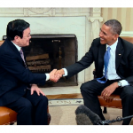 President Obama Meets With President Truong Tan Sang Of Vietnam