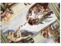 Photo Credit: Vlad G / Shutterstock.com'- The Creation of Adam' is one of the nine ceiling panels in the Sistine Chapel depicting scenes from the book of Genesis.
