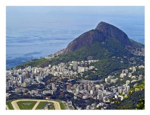 Brazil - Rio De Janeiro City Scenery view.