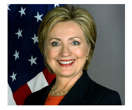 Photo Credit: Wikipedia - Secretary of State Hillary Rodham Clinton.