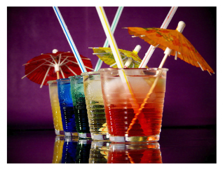 Photo Credit: Wikipedia - Cocktails with umbrellas.
