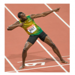 Usain Bolt Clean As A Whistle