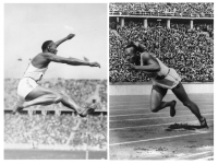 Photo credit: Wikimedia - Jesse Owens at Olympics summer games 1936.