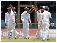 Photo credit: espncricinfo.com - Jerome Taylor removed Imrul Kayes early © WICB Media.