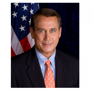 Photo Credit: Wikipedia - John Boehner official portrait.