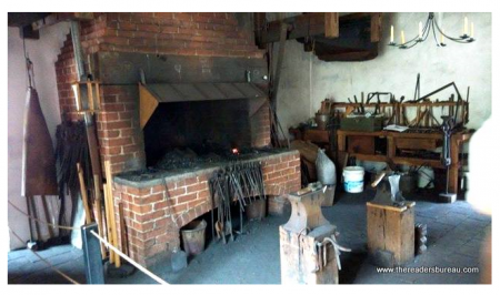 Visitor can visit the Inside view of the Smithy.