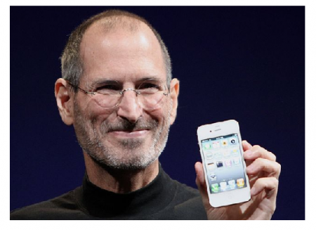 Photo Credit: Wikipedia - Steve Jobs shows off the iPhone 4 at the 2010 Worldwide Developers Conference.
