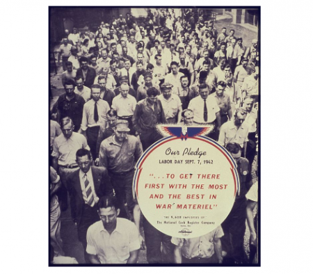 Photo Credit: Wikimedia Commons - Our Pledge Labor Day Sept. 7, 1942.