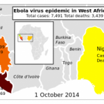 Ebola's History And Current Geography