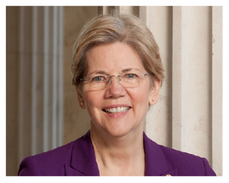 Photo Credit: Wikipedia - Elizabeth Warren.