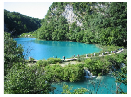 Photo credit: Wikipedia - Plitvice Lakes, Croatia,