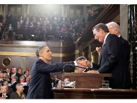 Photo Credit: Wikimedia Commons - President Barack Obama is greeted by Speaker of the House John Boehner.