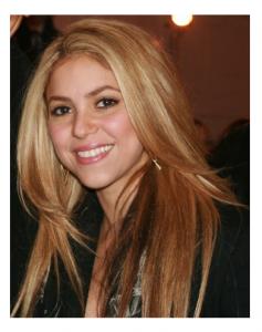 Photo Credit: Wikipedia - Shakira.