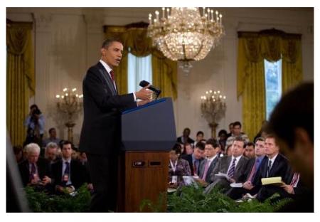 President Obama Laments
