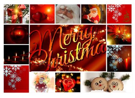 Saying Merry Christmas