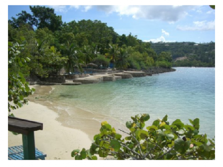 Photo Credit: Wikipedia - James Bond Beach in Oracabessa Jamaica.