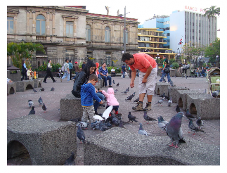 Photo Credit: Wikipedia - Plaza de la Central — in San José city, Costa Rica by Eric T Gunther.