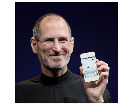 Photo Credit: Wikipedia  photo by Matthew Yohe - Steve Jobs.