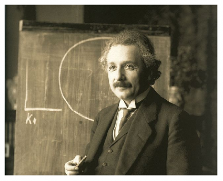 Photo Credit: Wikipedia - Albert Einstein.
