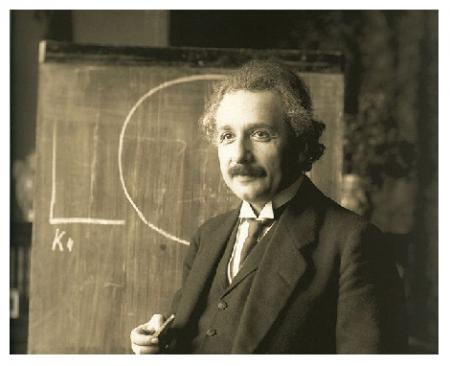 Photo Credit: Wikipedia - Albert Einstein.