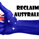 Demonstrators Cry Yes Australia! No Sharia! In Protest March