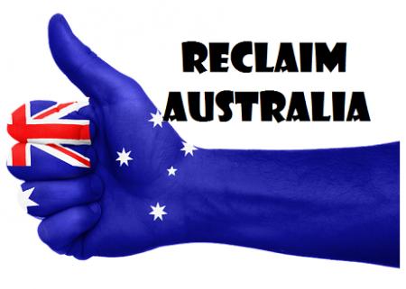 Demonstrators Cry Yes Australia