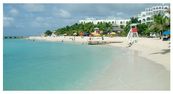 Photo Credit: Wikipedia - Doctor's Cave Beach Club, Montego Bay, Jamaica.
