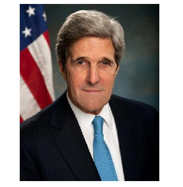 Photo Credit: Wikipedia -  U.S. Secretary of State John Kerry.