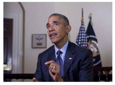 Photo Credit: President Obama.