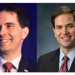 Walker and Rubio Seek To Steal Trump's Thunder