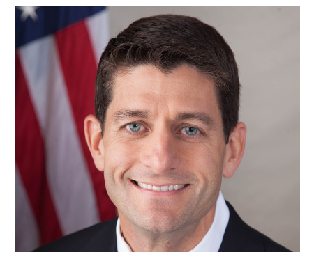 Photo Credit: United States House of Representatives - A portrait shot of Paul Ryan.