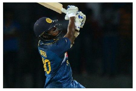 Photo Credit: International Cricket Council - Ajantha Mendis held his nerve and chipped in with a 20-ball 21 not out to give Sri Lanka a one-wicket win via the Duckworth-Lewis method.