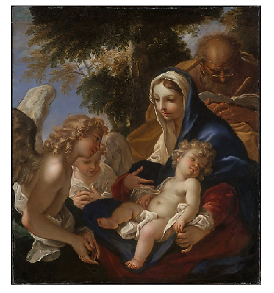 Photo Credit: The Metropolitan Museum of Art  - The Holy Family with Angels.