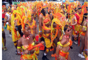 Photo Credit: Jean-Marc /Jo BeLo/Jhon-John - Carnival Masqueraders in Trinidad and Tobago.