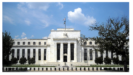 Photo Credit: AgnosticPreachersKid/CC BY-SA 3.0 - Federal Reserve Building.