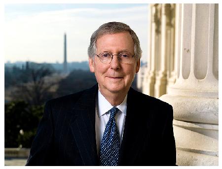 Photo Credit:  http://mcconnell.senate.gov/official_photos.cfm
