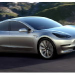 New Tesla Model 3 Electric Car