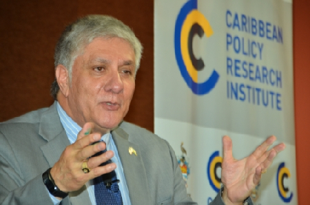 United States Ambassador to Jamaica Luis G Moreno Photo Credit: JIS