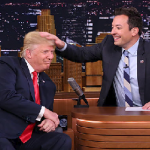 Donald Trump And Jimmy Fallon In September To Remember Bromance