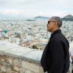 President Obama Sees Historical Link On His Visit To The Birthplace Of Democracy