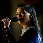Barbadian Singer Rihanna — The Chart Beater Puts The Beatles On Hit List Watch
