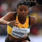 Jamaica's Britany Anderson Ran Fastest Time