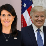 "Nikki Haley Throws ""Dart"" At Trump"